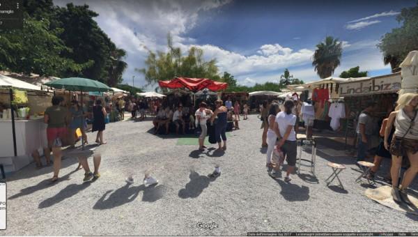 Mercadillo Las Dalias, Ibiza, Spain