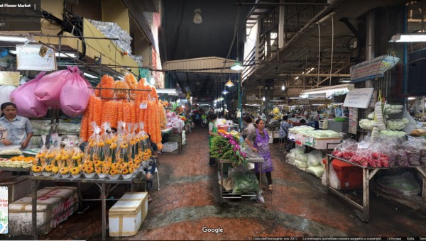 Pak Khlong Talat, Flower Market, Bangkok